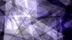 Fast Chaotic Expressionist Abstract Fuzzy Focus Blue Background Loop 1 Stock Footage