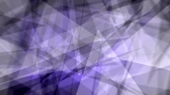 Fast Chaotic Expressionist Abstract Fuzzy Focus Blue Background Loop 2 Stock Footage