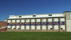 Pendleton Woolen Mills, 4K Stock Footage