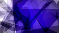 Fast Chaotic Expressionist Abstract Blue Background Loop 3 Stock Footage