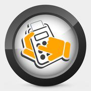 Calculator icon Stock Illustration