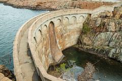 quanah parker dam - stock photo