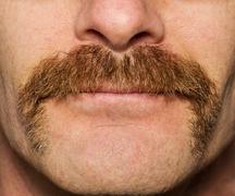 movember mustache - stock photo