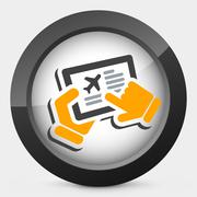 Airline booking Piirros