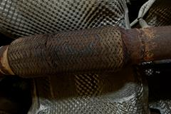 exhaust manifolds - stock photo