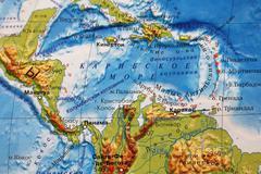 Caribbean Sea Stock Photos