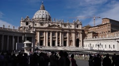 06 StPeters WS2 Line shadow 1080P - stock footage