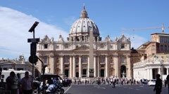 08 StPeters WS long lense 1080P - stock footage