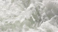 Rough water of the Kaituna River - stock footage