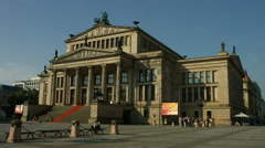 Konzerthalle Berlin, concert hall Stock Footage