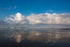 Panoramic view of a beach in Costa Rica - stock photo