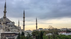 Istanbul Bue Mosque Stock Footage