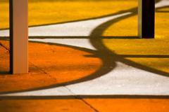 Monumenta 2012 features Daniel Burren - stock photo