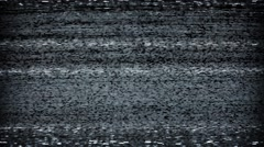 TV Static Tuning - stock footage