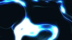 Dark Blue Glowing Liquid Energy Background Loop Close 2 Stock Footage