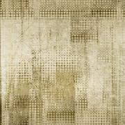Vintage sepia dotted background - stock illustration