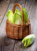Endive Leaves - stock photo