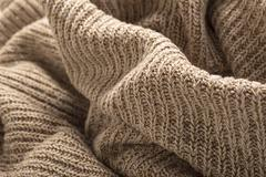 Stock Photo of wool sweater close up