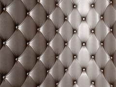 Leather upholstery Stock Illustration