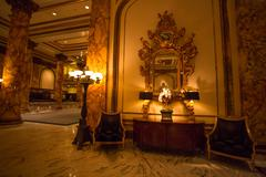 Detail of the Interior at the Fairmont Hotel Stock Photos