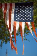 Old American Glory - stock photo