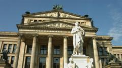 Konzerthalle Berlin, concert hall Stock Footage