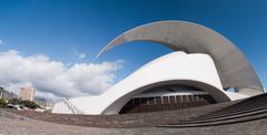 Auditorio de Tenerife in Spain by Calatrava Stock Photos