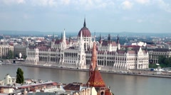 Budapest - Cityscape Stock Footage