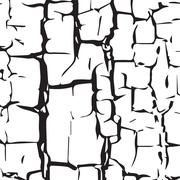 Stock Illustration of cracked  texture