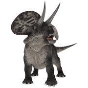 Dinosaur Zuniceratops Stock Photos