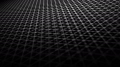 Triangular grid greyscale Stock Footage