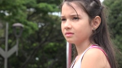 Confused Girl, Confusion, Worry, Anxiety, Stress Stock Footage
