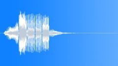 FX Buzzy Beep Verb Sound Effect