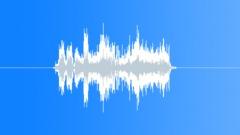 FX CHR HOLD ON BACK UP Sound Effect