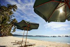 Beach Boracay - stock photo