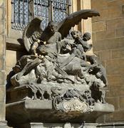 Statue of the Apostles - stock photo