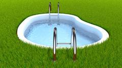 Swimming pool Piirros