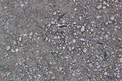 Crushed Stone - stock photo
