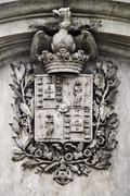 Oporto coat-of-arms - stock photo