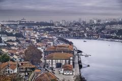 View of Oporto - stock photo