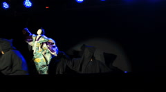 Japan Puppet Show In International Puppets Festival 2014 Stock Footage