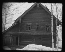 Vintage video 8mm : Novgorod Museum of Wooden Architecture - stock footage