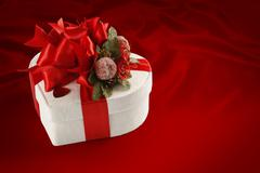Gift box, chocolate for Valentine's day and christmas Stock Photos