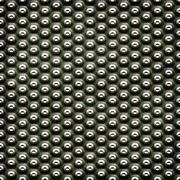 Metal plate with dots Stock Illustration