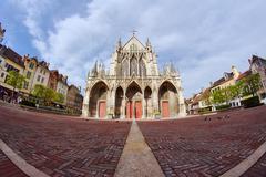 Stock Photo of basilique saint-urbain de troyes.