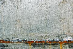 Zinc coated galvanized steel metal sheet plate texture Stock Photos