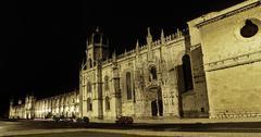 Hieronymites Monastery in Lisbon 2 - stock photo