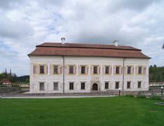 Aristocratic residence - stock photo