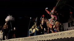 International Puppets Festival 2014 at Chiang Mai Stock Footage
