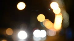 Colorful Bokeh Stock Footage
